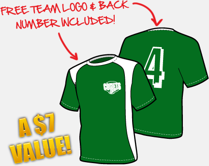 7ed52105f6b1 Personalized Soccer Jerseys