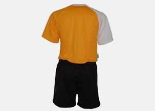 Soccer Uniform Back