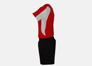 Soccer Uniform Side